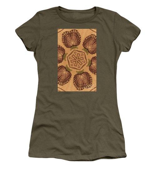 Fat Pineapple And Star Women's T-Shirt