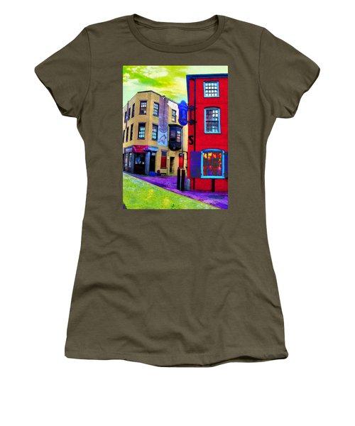 Faux Fauve Cityscape Women's T-Shirt
