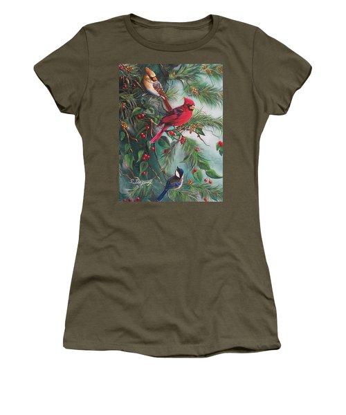 Feathered Friends  Women's T-Shirt