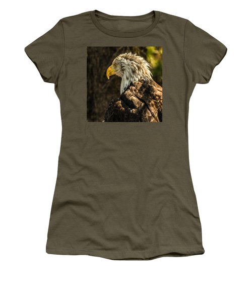 Women's T-Shirt (Junior Cut) featuring the photograph Feathers In Light by Yeates Photography