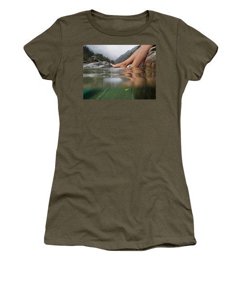 Feet On The Water Women's T-Shirt