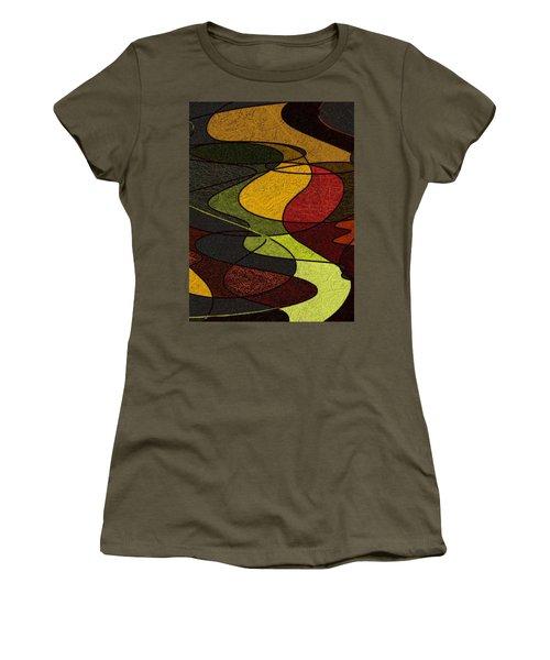 Felt Women's T-Shirt (Junior Cut) by Constance Krejci