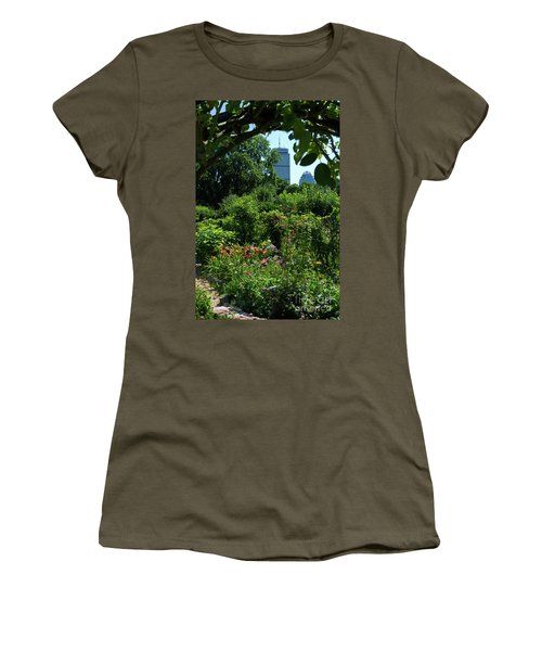Fenway Victory Gardens In Boston Massachusetts  -30951-30952 Women's T-Shirt