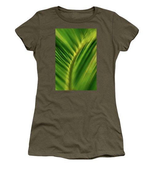 Fern Women's T-Shirt (Junior Cut) by Jay Stockhaus