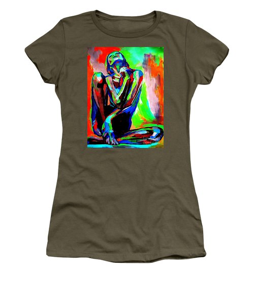 Fervidly Women's T-Shirt (Athletic Fit)