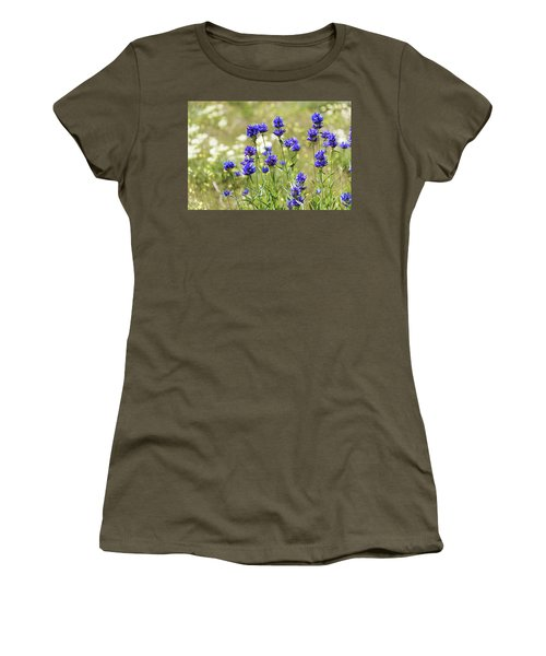 Women's T-Shirt (Junior Cut) featuring the photograph Field Of Dreams by Chad Dutson