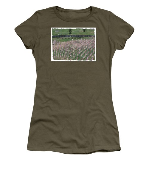 Field Of Flags - Gotg Arial Women's T-Shirt