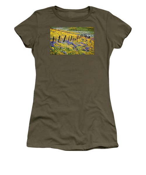 Field Of Gold And Purple Women's T-Shirt