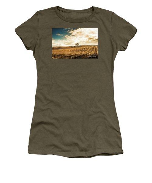 Fields Of Tasmanian Agriculture Women's T-Shirt