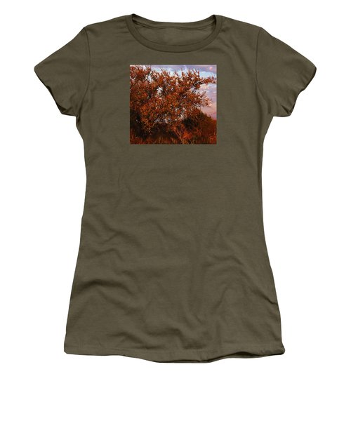 Fiery Elm Tree  Women's T-Shirt
