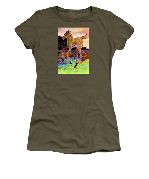 Finding His Legs Women's T-Shirt (Athletic Fit)