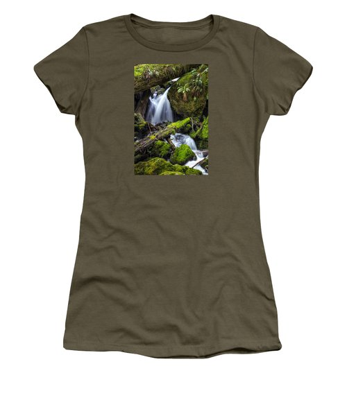 Finds A Way Women's T-Shirt (Athletic Fit)
