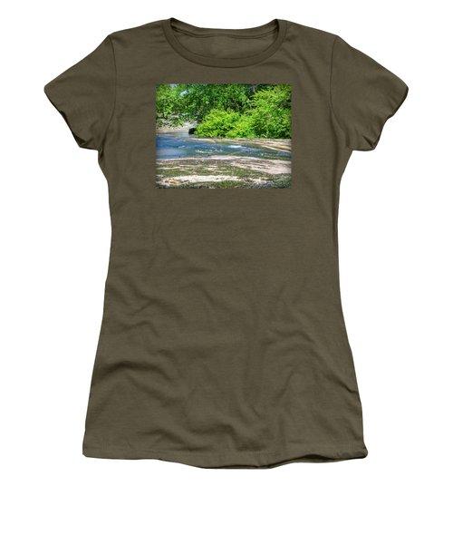 Fine Creek No. 3 Women's T-Shirt (Junior Cut) by Laura DAddona