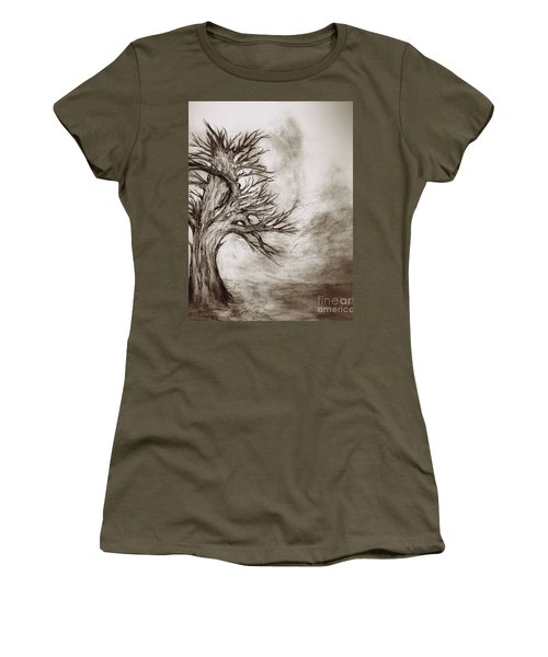 Finis 3 Women's T-Shirt (Junior Cut) by John Krakora