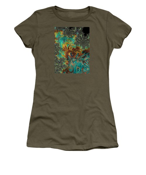 Fire And Ice Women's T-Shirt (Junior Cut) by Ronda Broatch