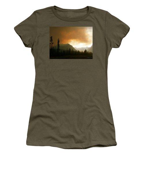 Fire Over St Mary Women's T-Shirt (Junior Cut)