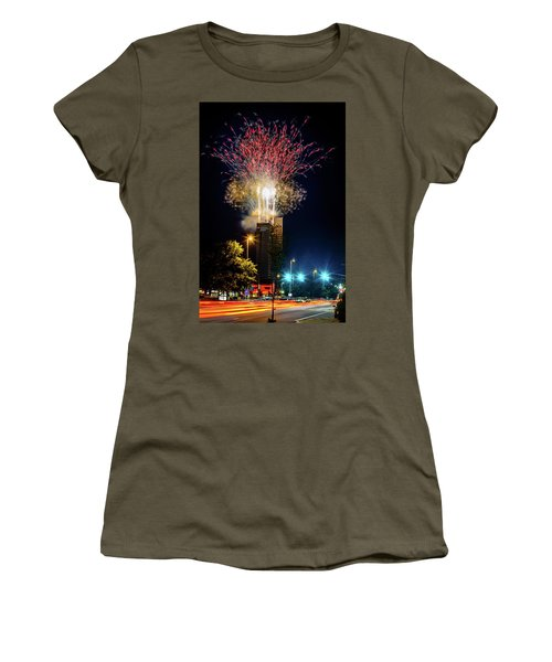 Fire Works In Fort Wayne Women's T-Shirt (Athletic Fit)