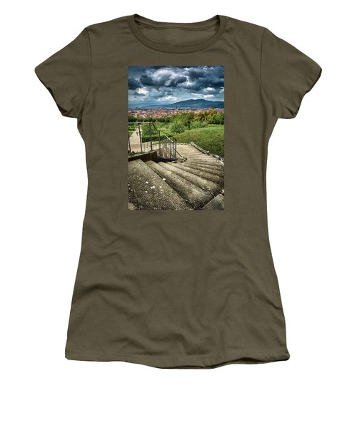 Firenze From The Boboli Gardens Women's T-Shirt