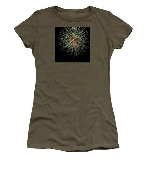 Fireworks 3 Women's T-Shirt (Junior Cut) by Ellery Russell