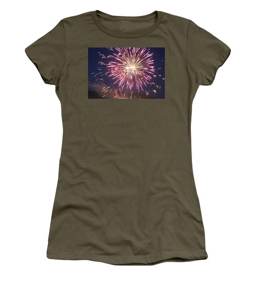 Fireworks In The Park 2 Women's T-Shirt