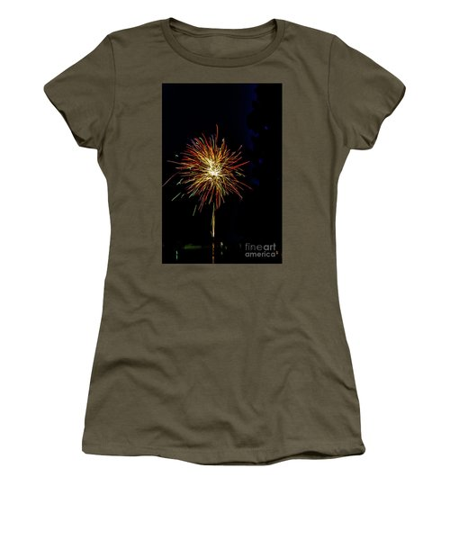 Fireworks Women's T-Shirt (Junior Cut) by William Norton