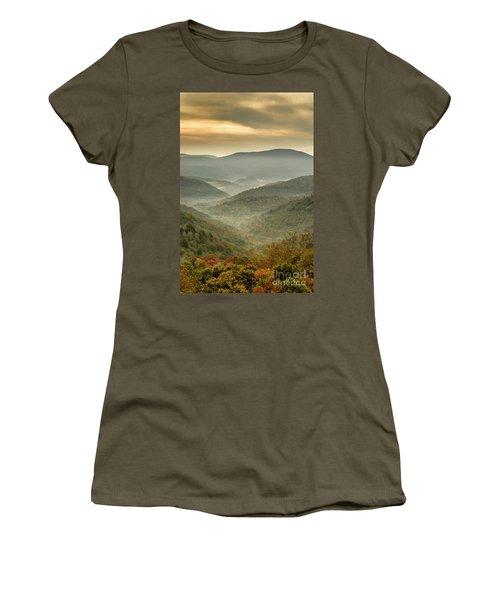 First Day Of Fall Highlands Women's T-Shirt