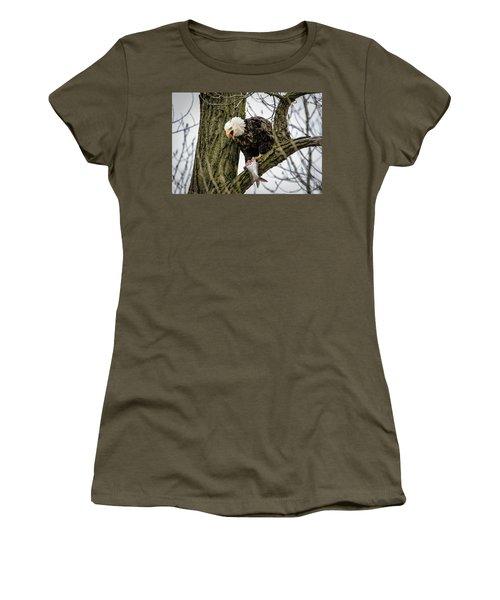 Fish For Dinner Women's T-Shirt (Junior Cut)
