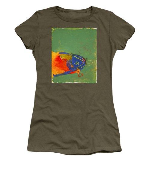 Fish Pondering The Anomaly Of Mans Anamnesis Women's T-Shirt
