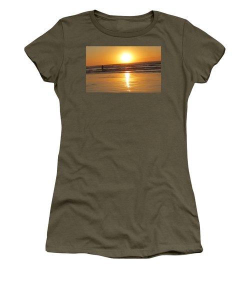 Fisherman At Sunrise Women's T-Shirt