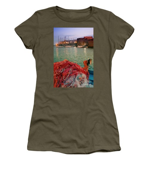 Fisherman's Net Women's T-Shirt (Athletic Fit)