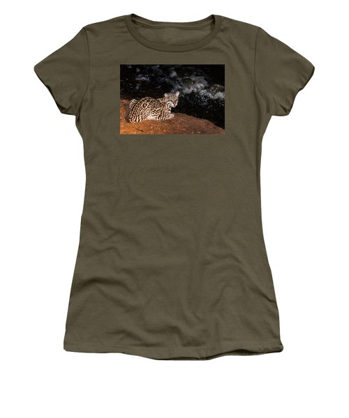 Fishing In The Stream Women's T-Shirt (Athletic Fit)