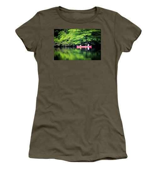 Fishing On Shady Women's T-Shirt (Athletic Fit)