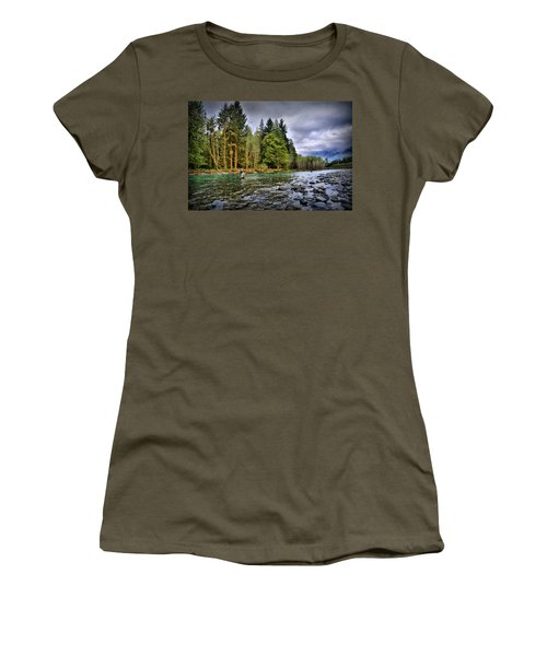 Fishing The Run Women's T-Shirt