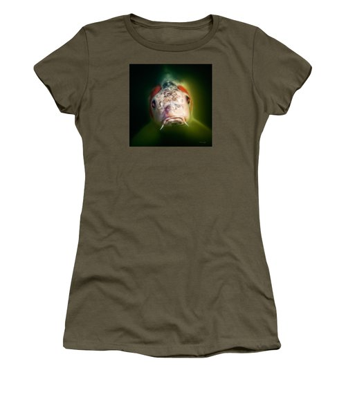 Here's Looking At You Women's T-Shirt (Junior Cut) by Denis Lemay