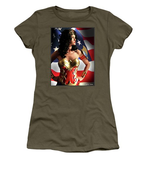 Flag And Fury Women's T-Shirt (Athletic Fit)