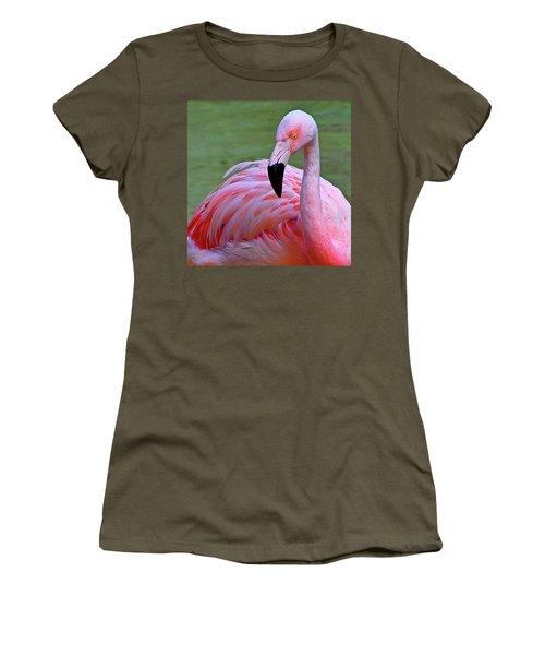 Flamingo  Women's T-Shirt (Athletic Fit)