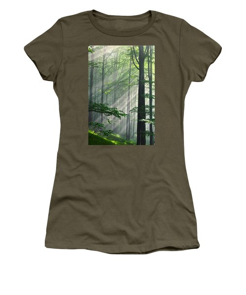 Fleeting Beams Women's T-Shirt