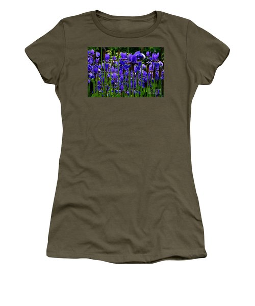 Fleur De Lys Women's T-Shirt (Junior Cut) by Elfriede Fulda