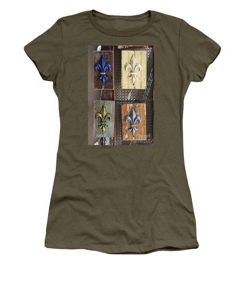Fleurs-de-lis Women's T-Shirt