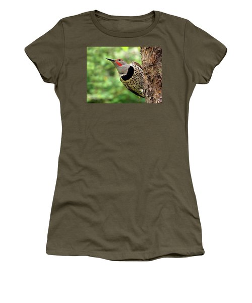 Flicker Women's T-Shirt (Junior Cut) by Inge Riis McDonald