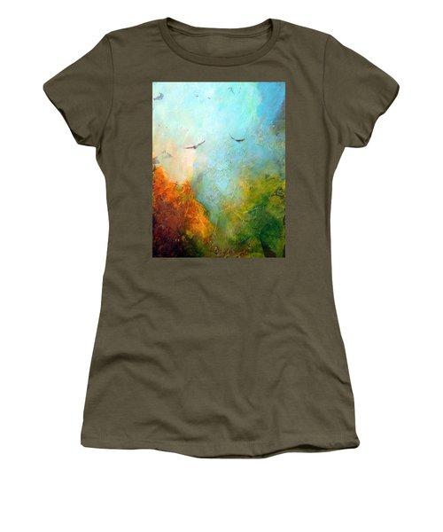 Flights Of Fancy Women's T-Shirt (Junior Cut) by Dina Dargo