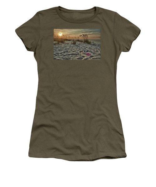 Flipflops On The Beach Women's T-Shirt