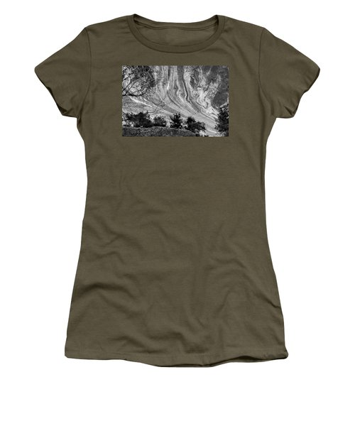 Floating Oil Spill On Water Women's T-Shirt