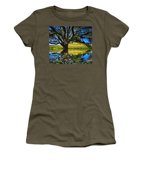 Flooded Oak Women's T-Shirt (Athletic Fit)