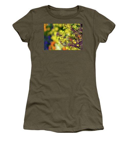 Flora Flora Flora Women's T-Shirt (Athletic Fit)