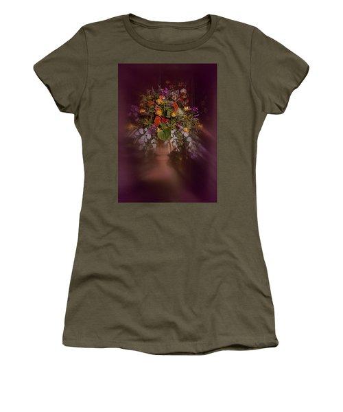 Floral Arrangement No. 2 Women's T-Shirt (Junior Cut) by Richard Cummings