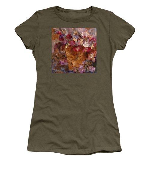 Floral Still Life Pinks Women's T-Shirt