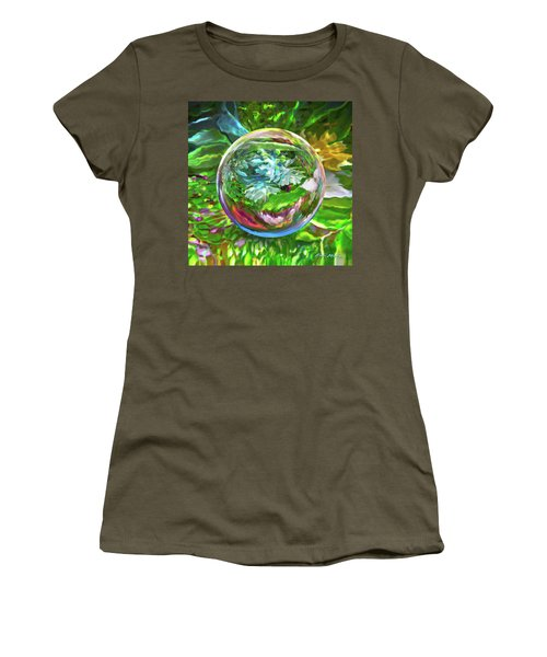 Florascape Women's T-Shirt (Athletic Fit)