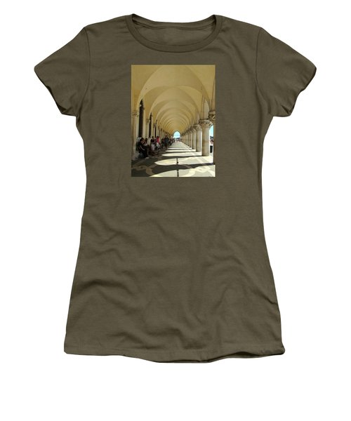 Florence Columns Women's T-Shirt (Athletic Fit)