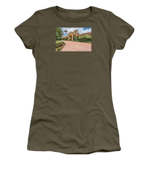 Florida Home Women's T-Shirt (Athletic Fit)